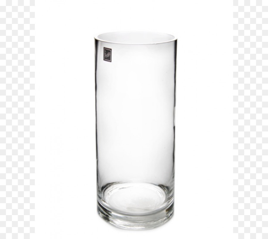 Highball Glass Vase Cylinder Hurricane Glass Glass Png Download