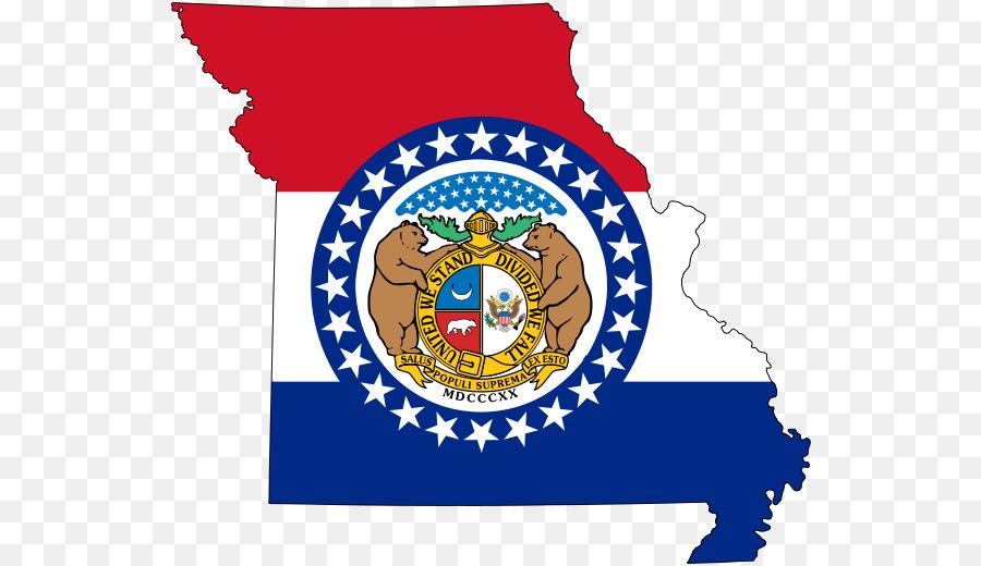 Flagge von Missouri State flag Map - Flagge png herunterladen - 590 ...
