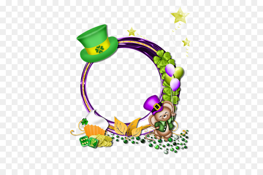 Saint Patricks Day Picture Frames Clip Art Saint Patricks Day