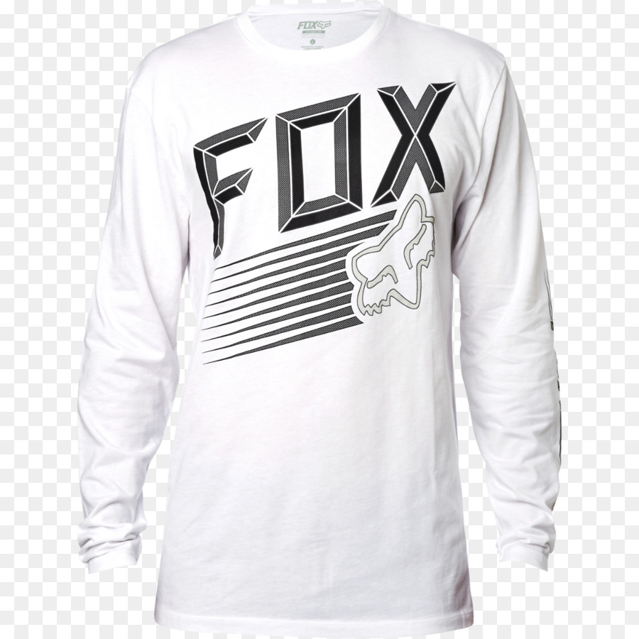 Long-sleeved T-shirt Fox Racing Clothing - T-shirt png download - 1280 1280  - Free Transparent Tshirt png Download. 2826c1350