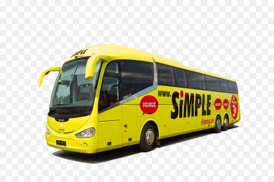 Bus Tallinn Riga Simple Express Lux Express Group Bus Png Download