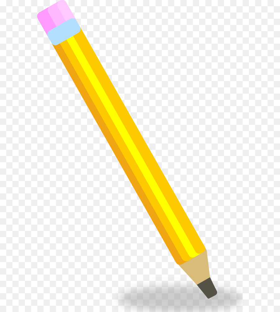 Animated pencil. Cartoon png download free