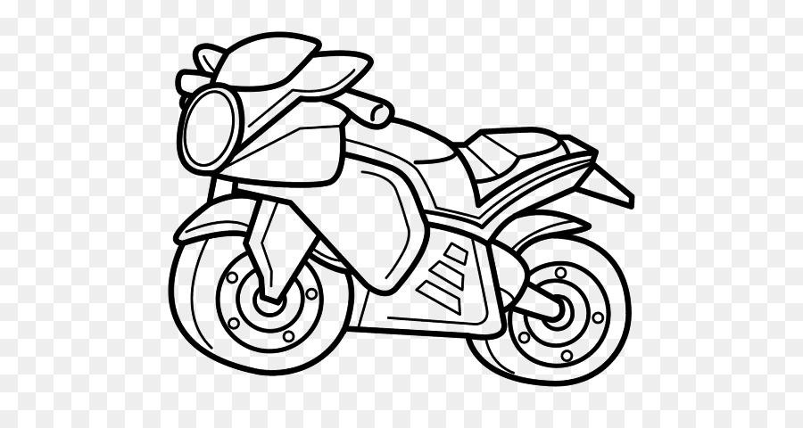 Honda Motocicleta Dibujo para Colorear libro de la Rueda - honda png ...