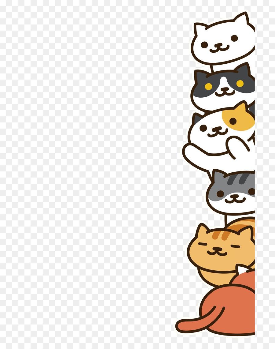 Neko Atsume Cat Desktop Wallpaper Kitten Cat Png Download 768