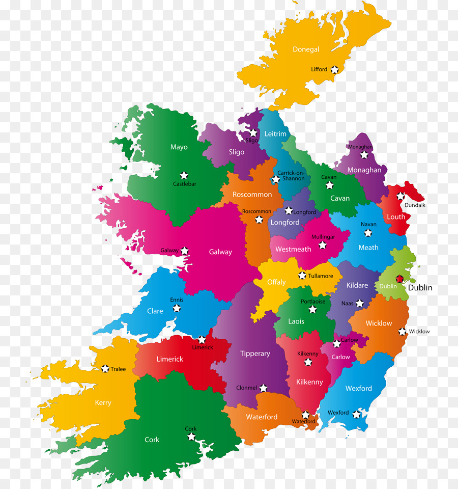 World Map With Counties.Counties Of Ireland World Map Map Png Download 800 957 Free