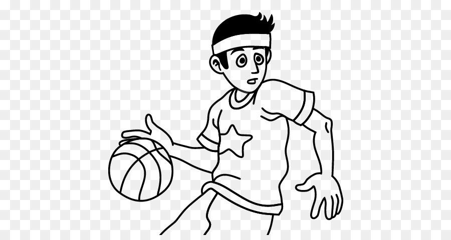 Cancha de baloncesto para Colorear libro Canestro Tablero ...