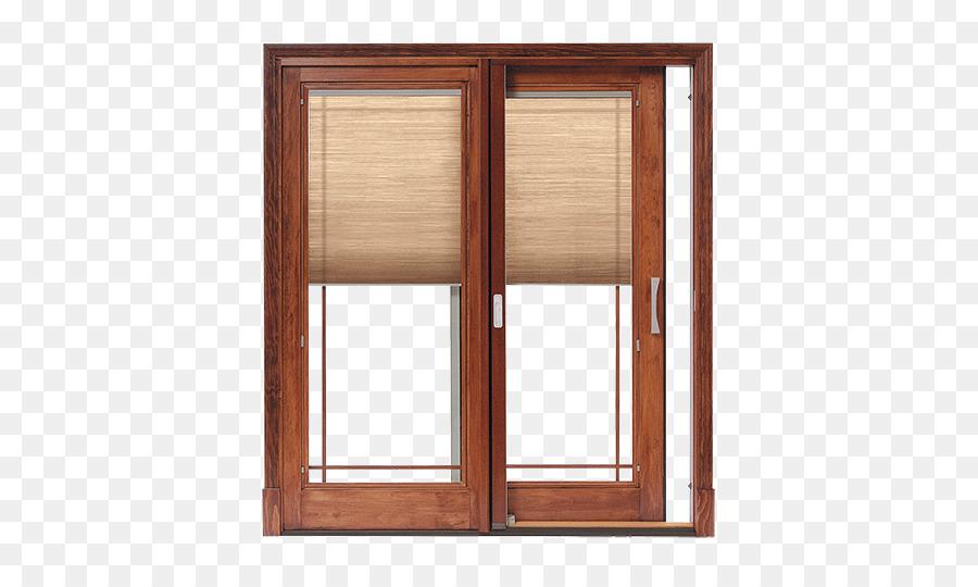 Window Blinds Shades Sliding Glass Door Pella Window Png