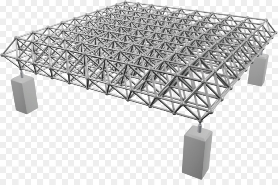 Space frame Framing Structure Building Truss - building png download ...