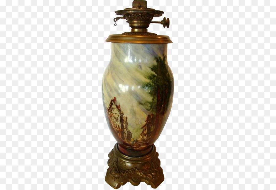 Baccarat Oil Lamp Vase Antique Opaline Glass Vase Png Download