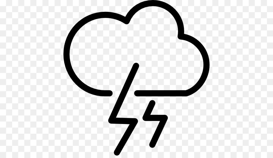 Weather Forecasting Thunderstorm Symbol Weather Png Download 512