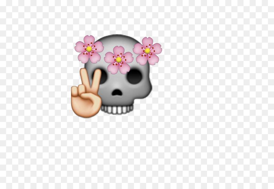 Emoji flower skull wreath emoji png download 610610 free emoji flower skull wreath emoji mightylinksfo