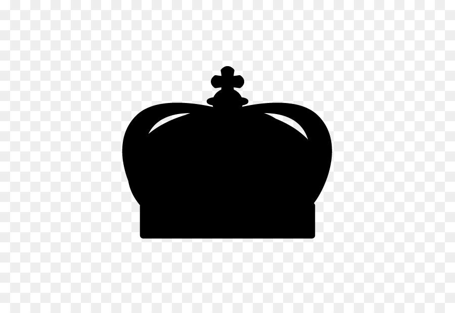 La Silueta En Blanco Y Negro De La Corona De La Tiara Silueta Png