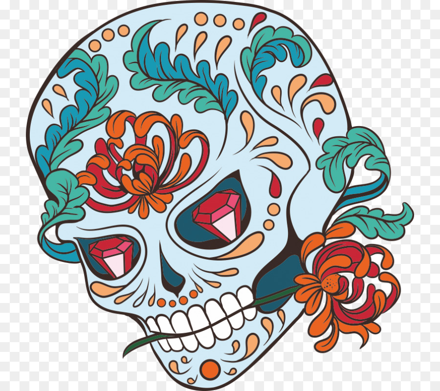 Gothic Coloring Books for Adults: 2017 Day of the Dead Coloring Book ...
