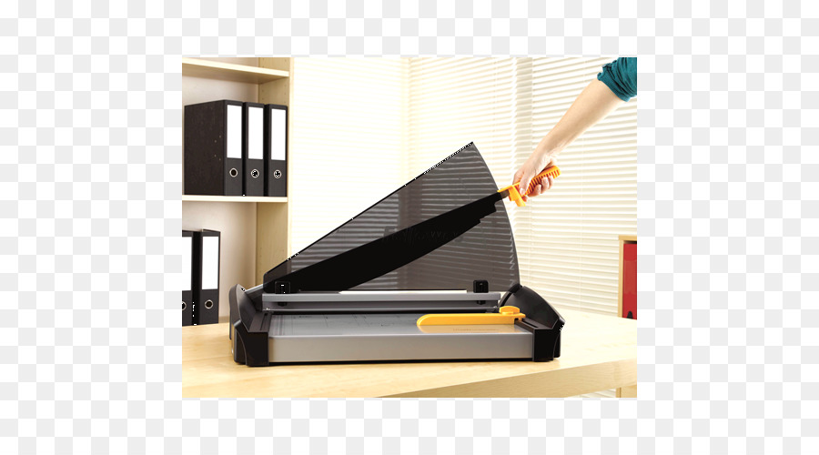 Paper cutter Cisaille Office Supplies Cutting - others png download ...