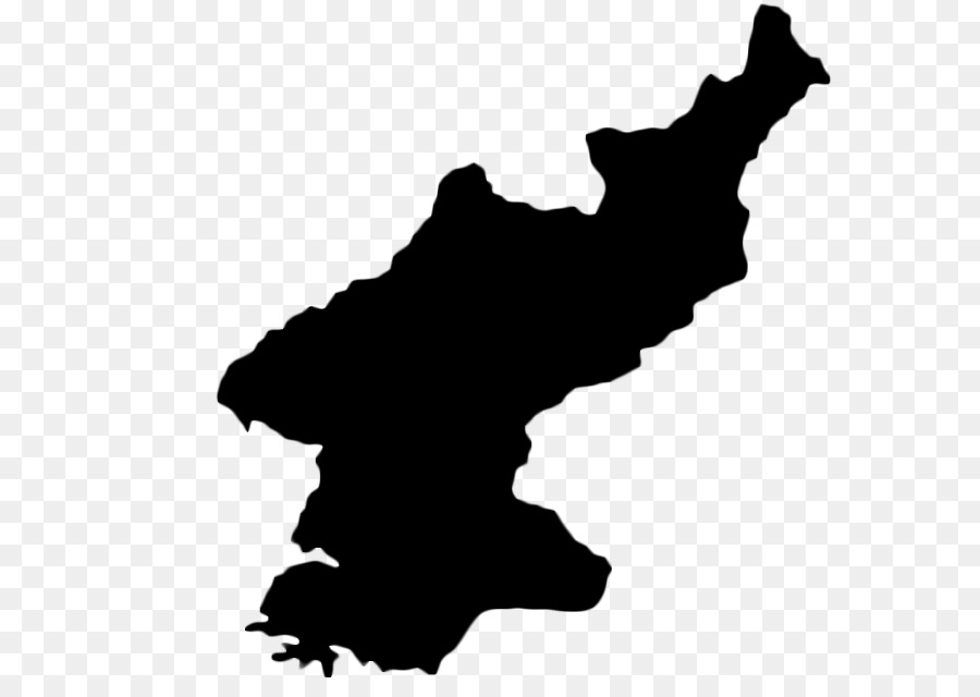 North Korea South Korea Vector Map - map png download - 757*637 ...