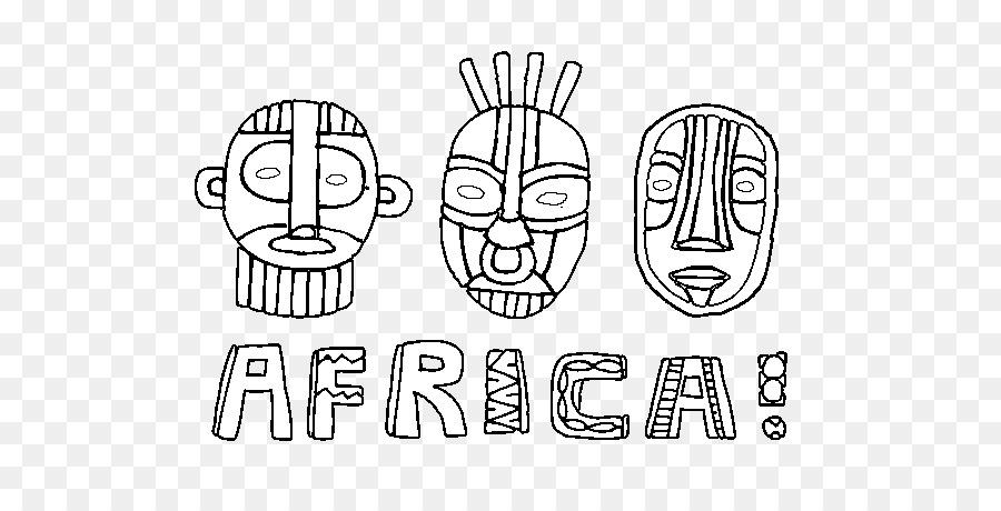 Libro para colorear de Niño sudáfrica - niño png dibujo ...