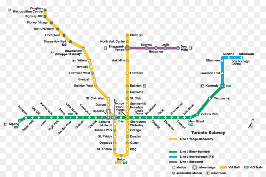 Toronto Bus And Subway Map.Bus Cartoon Png Download 3150 2100 Free Transparent Toronto