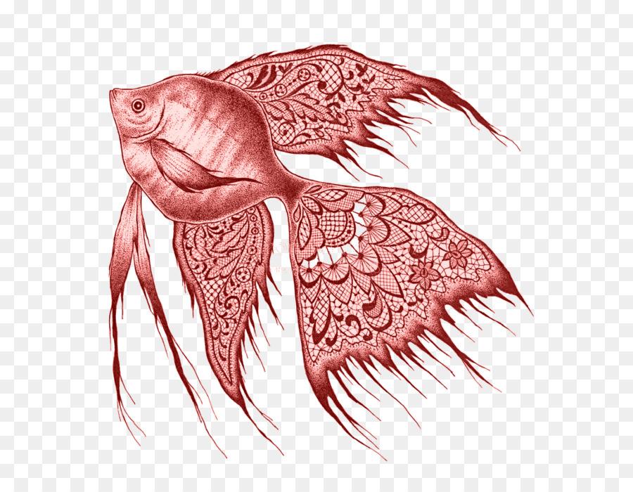 Drawing Freshwater Angelfish Pencil Fish Png Download 700700