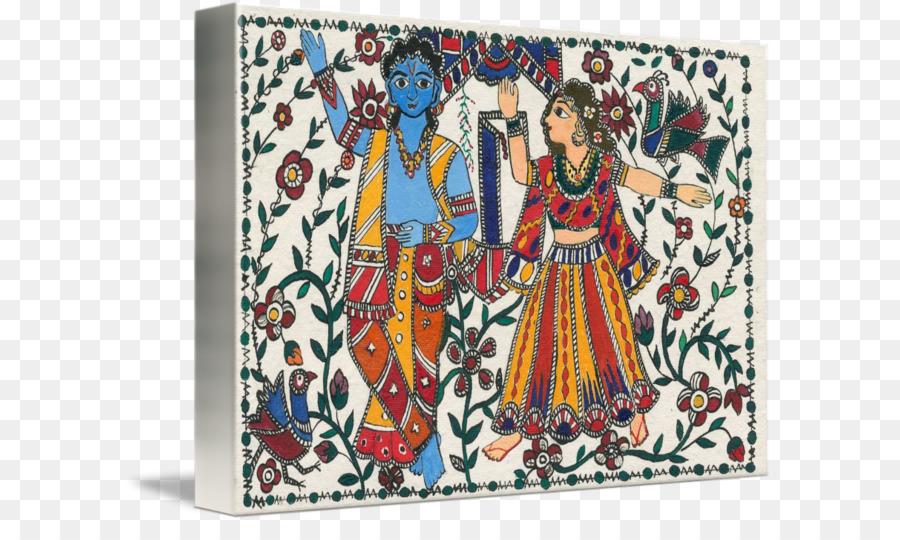 Radha Krishna png download - 650*522 - Free Transparent