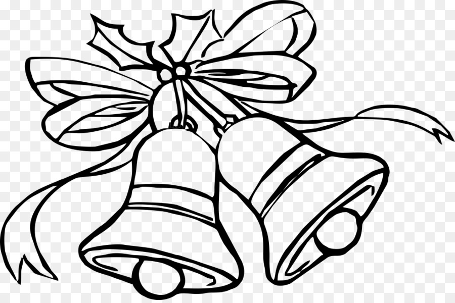 Coloring Book Christmas Jingle Bell Child Christmas Png Download