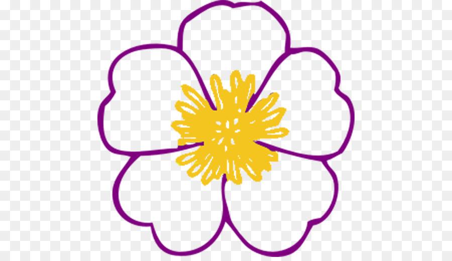 Libro para colorear de Flores de Lilium Niño - flor png dibujo ...