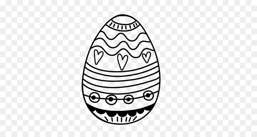 Huevo de pascua para Colorear libro de Dibujo - pascua Formatos De ...