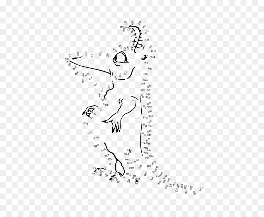 Buku Mewarnai Menggambar Dengan Menghubungkan Titik Titik Clip Art