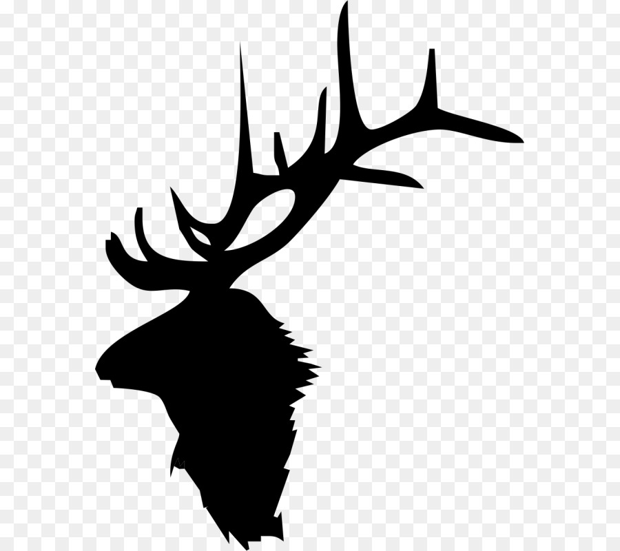 Elk Deer Moose Antler Clip Art Deer Png Download 623800 Free