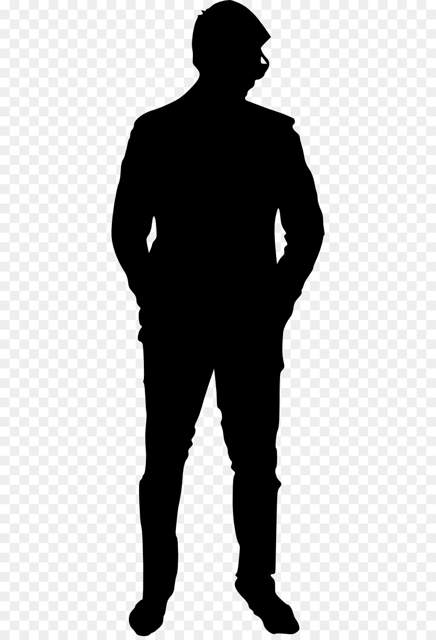 mypuzzledesign business man standing silhouette in - HD 900×1320