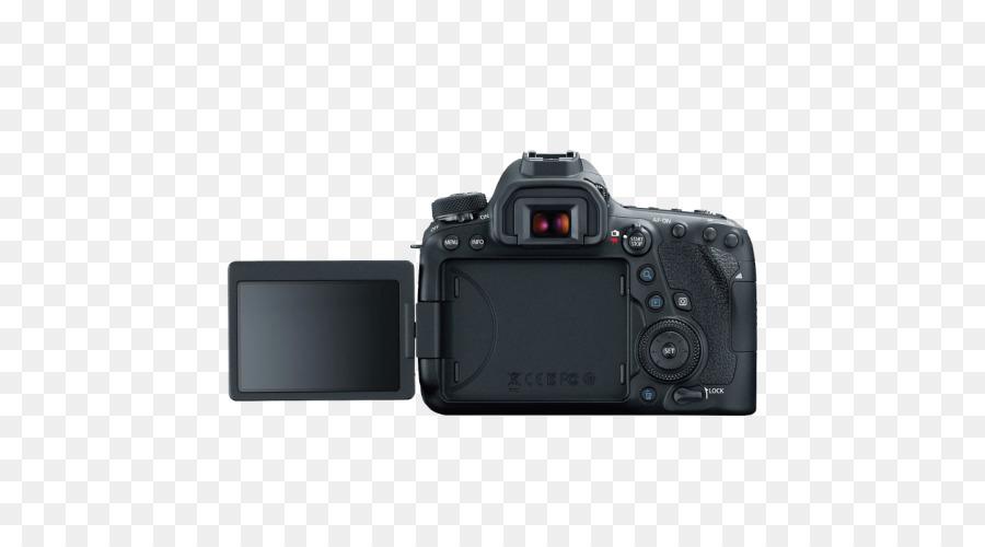 Canon EOS 6D Camera Full-frame digital SLR - Camera png download ...
