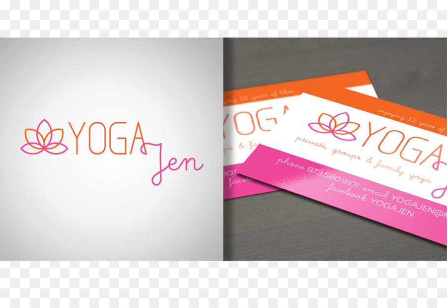 Cartes De Visite Logo Conception Carte Instructeur Yoga