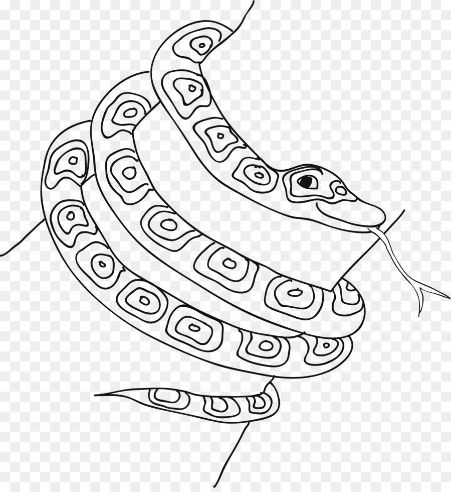 Yılan Ausmalbild Boyama Kitabı Hayvan Notechis Yılan Png Indir