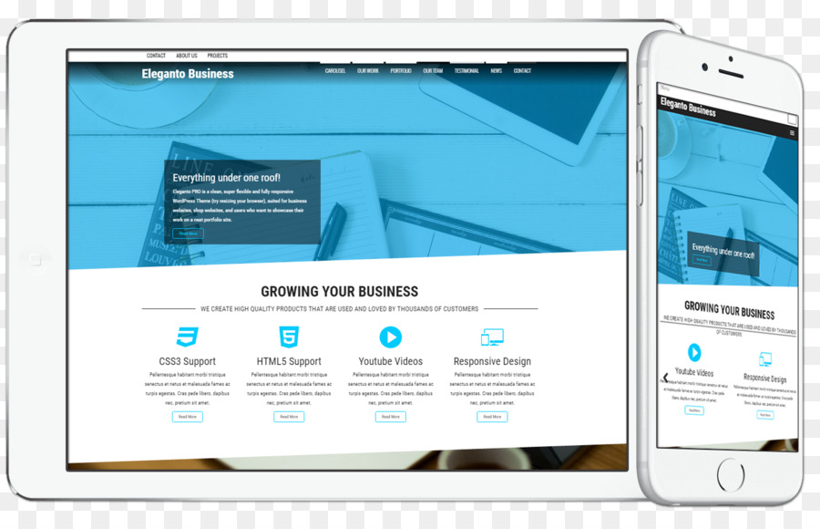 Diseño web sensible Tema de WordPress WooCommerce - WordPress ...