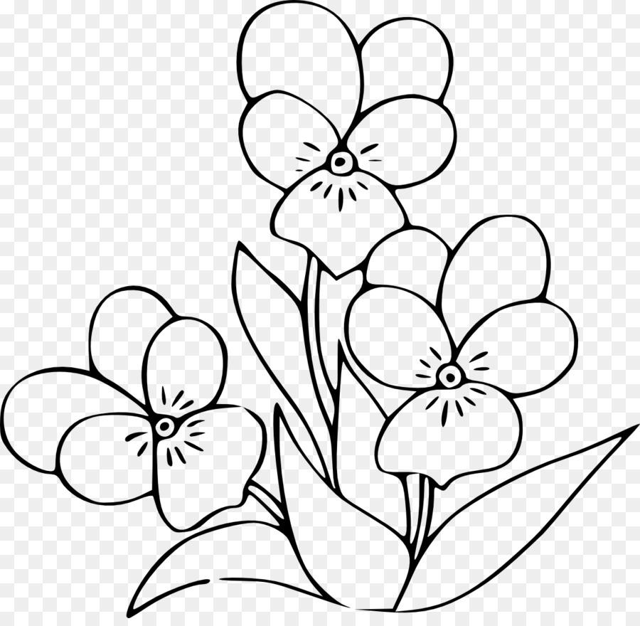 Dibujo Común de girasol libro para Colorear - flor png dibujo ...