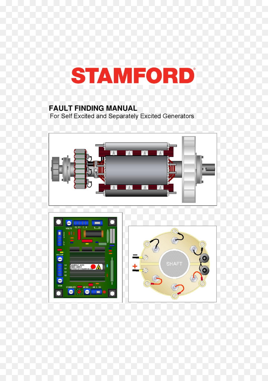 Stamford Wiring diagram Electric generator Alternator Alternating current -  others