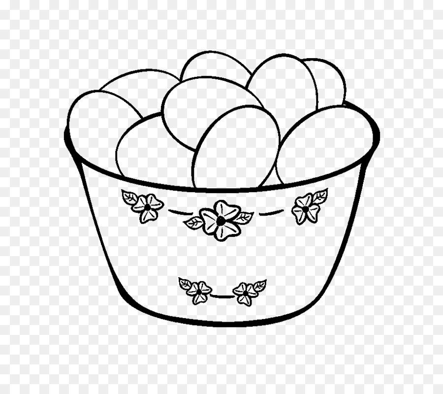 Libro para colorear de Pascua, huevo de Pascua, huevo de Dibujo ...