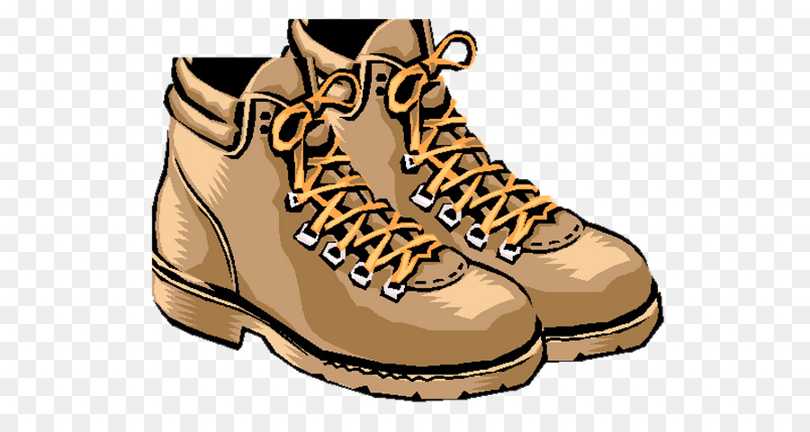 Hiking boot T-shirt Clip art - boot png download - 600*471 ...