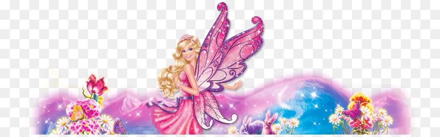 Barbie Desktop Wallpaper Barbie Png Download 1332 407 Free