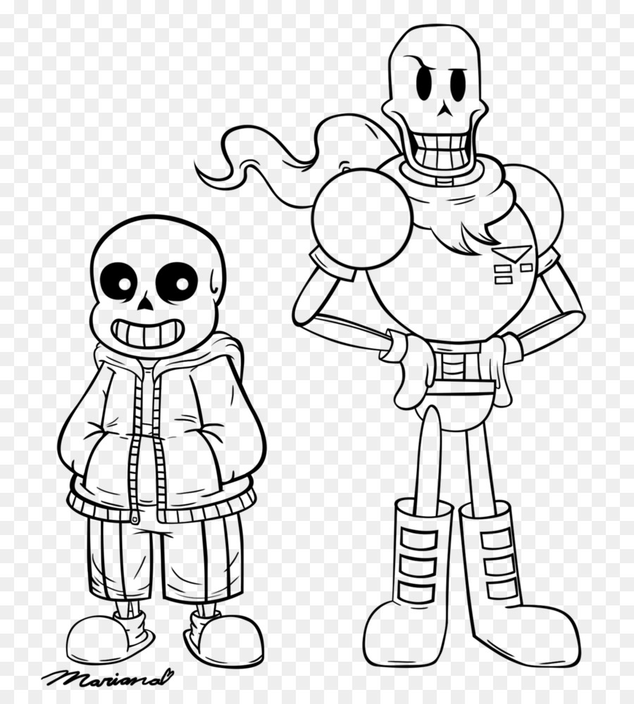 Coloring Book Undertale Line Art Drawing Character Others Png