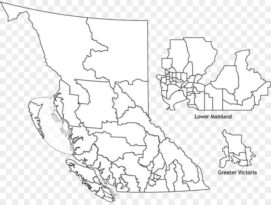 Blank Map Of Bc map png download   1280*955   Free Transparent Map png Download.