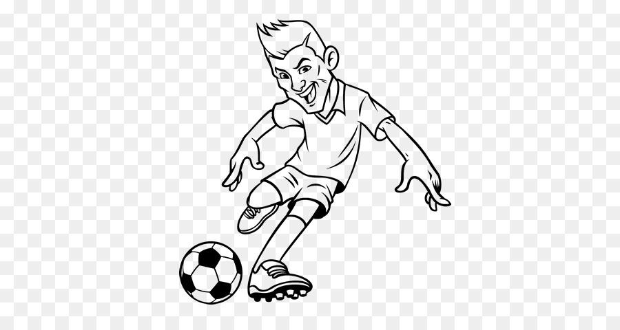 Libro para colorear jugador de Fútbol de Avance de Dibujo - fútbol ...