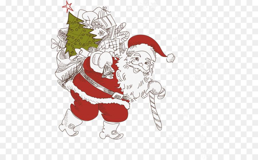 Gift Donation Santa Claus Christmas - gift png download - 600*559 ...