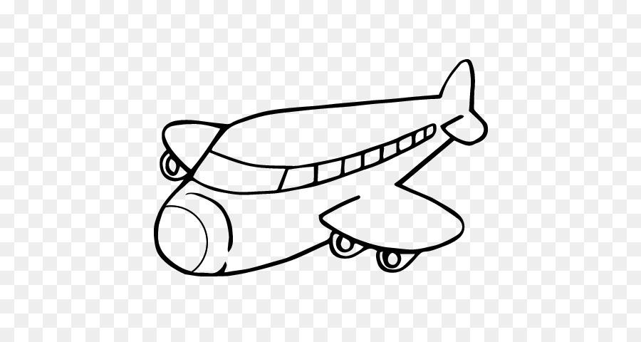 Avión de Dibujo Pintura para Colorear libro - avión Formatos De ...
