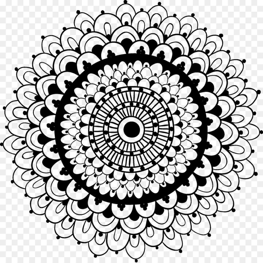 Mehndi Henna Desain Bunga Clip Art Desain Unduh Seni Visual