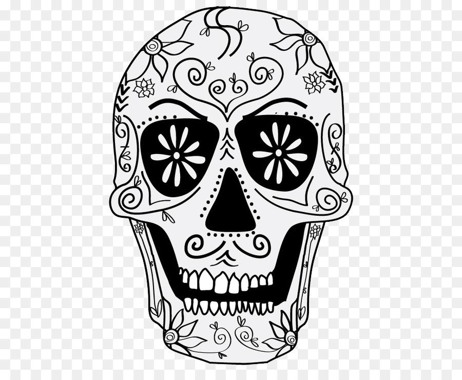 Calavera Día de Muertos Calaca libro para Colorear de la Muerte ...