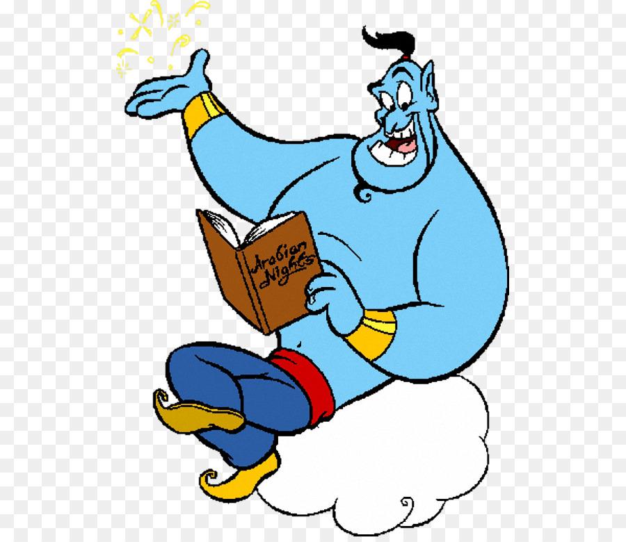 Genie Aladdin Princess Jasmine Abu Jafar Aladdin Png Download