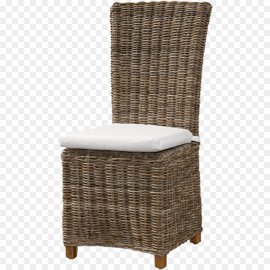 Chair Cushion Furniture Dining Room Wicker   Chair