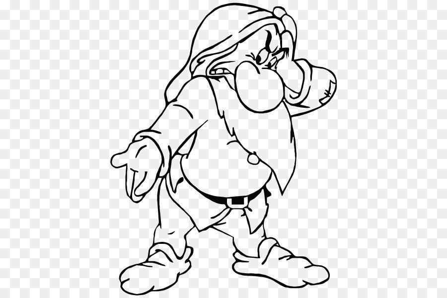 Siete Enanitos de mal humor Tonto Tímido libro para Colorear - Dwarf ...