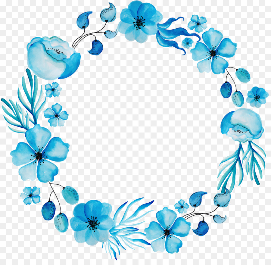 Watercolour flowers floral design wreath blue flower png download watercolour flowers floral design wreath blue flower izmirmasajfo