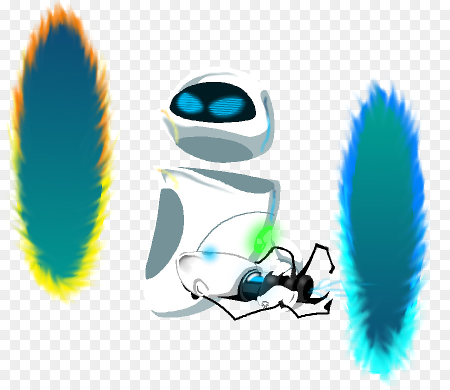 EVA de WALL-E de Portal 2 - wall-e png dibujo - Transparente png ...